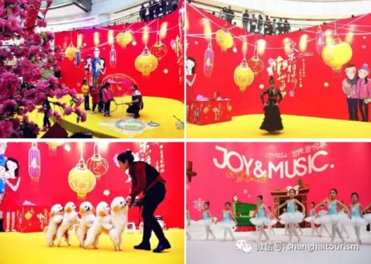 展览+集市+美陈,全上海的商场都开启过大年模式[墙根网]