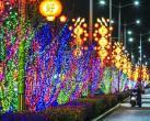三万套灯饰装点怀柔夜景 燕城饺子宴、敛巧饭民俗文化节陪你过大年
