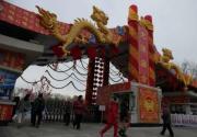 龙潭庙会装饰 3.5万个灯笼