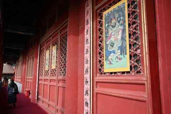 """故宫230处大门与宫殿近百年来再贴春联,均是""""乾隆""""书[墙根网]"""