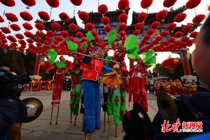 北京地坛龙潭两大传统庙会今日开幕 网红文创民俗冰雪等您来[墙根网]