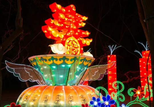 北京這里下雪啦!賞雪看燈、逛大集、泡溫泉...…春節去剛好!