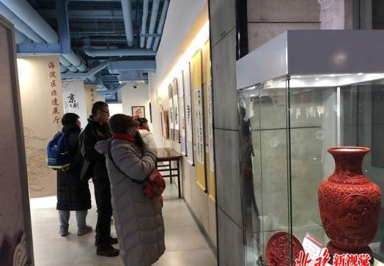 北京民俗博物馆非遗文化活动热闹开幕 非遗传人们各显其能