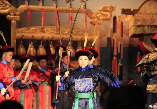 实拍北京天坛新春音乐会现场,神乐署扩容应对高峰