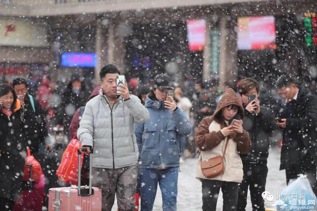 北京终于下了场像样的雪!来故宫看雪,有一个好消息和一个坏消息[墙根网]