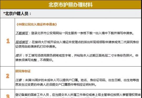 2019北京最新护照办理攻略来了!这72个国家说走就走!