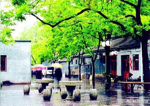 老舍笔下北京最美的街是旧时阜景街的哪些风景?[墙根网]