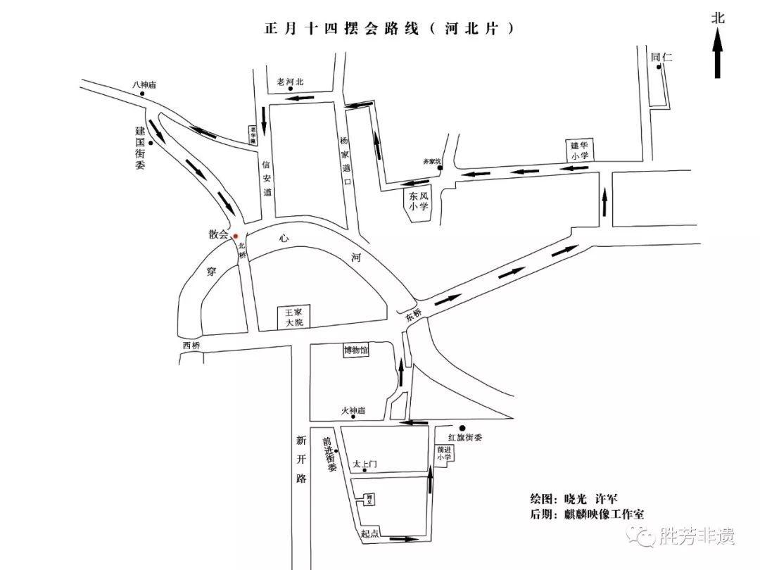2019第三十四届胜芳新春灯会庙会(时间+地点+看点)[墙根网]