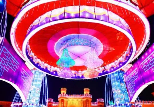 """世界公园""""新春花灯大拜年""""活动(时间+地点+门票+活动内容)"""