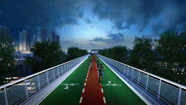 北京回龙观至上地自行车专用道预计6月开通