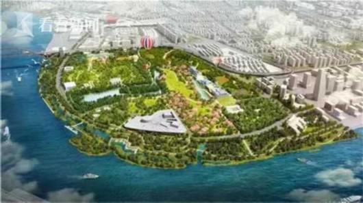 48米高双子山将在黄浦江畔拔地而起 世博文化公园将于2021年竣工