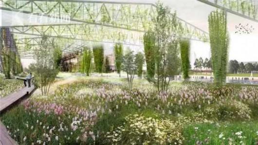 48米高双子山将在黄浦江畔拔地而起 世博文化公园将于2021年竣工[墙根网]