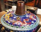 海淀大钟寺这家磁器铜锅涮肉有点不一样