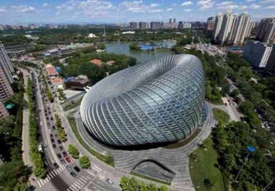 """北京这座建筑摘得国际结构""""奥斯卡奖"""",它紧邻朝阳公园"""