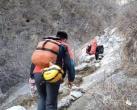 一驴友在箭扣长城事故高发地坠崖,6个小时的艰难救援