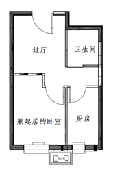 丰台区康润家园公租房项目户型图