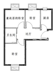 丰台区康润家园公租房项目户型图[墙根网]