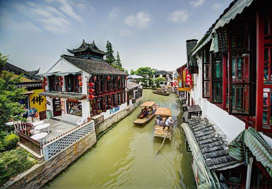 上海古镇踏春地图来一个 为五一小长假做准备!