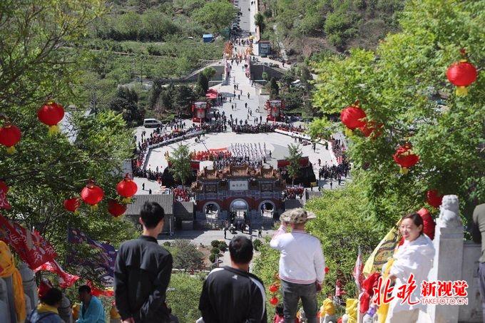 2019北京平谷丫髻山庙会开幕,包括清代皇家祈福仪式和民俗老会表演[墙根网]