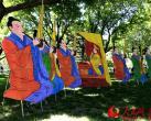 """北京陶然亭公园风筝文化节开幕 最硬核""""航母风筝""""亮相"""