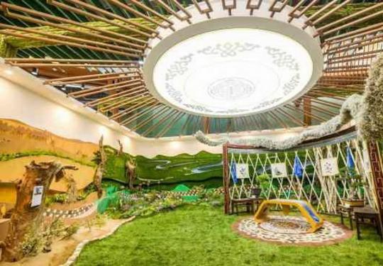 蒙古舞、马头琴、胡杨树……来北京世园会内蒙古日徜徉壮美北疆