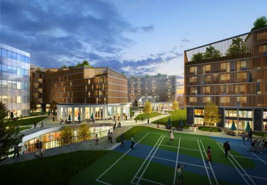 北京海淀首例集体土地租赁房项目开工 未来将提供1101套房源