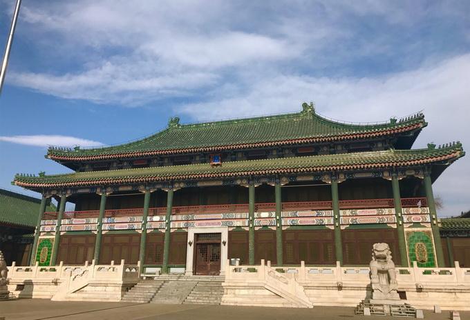 文津街上有个图书馆,绿色琉璃瓦屋顶让人惊艳,读书充满了仪式感[墙根网]