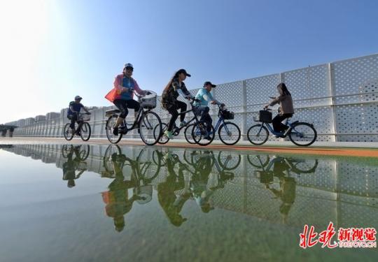 北京自行车专用路立规矩:电动车进入罚20元,12岁以下儿童禁上