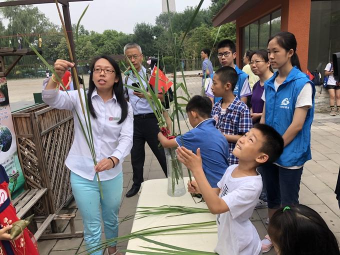 端午小长假第一天,北京玉渊潭公园邀游客体验多彩民俗[墙根网]