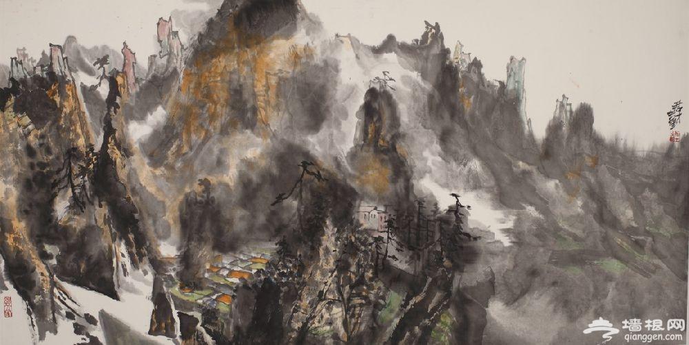 2019北京世园会刘君才山水画作品展时间地点[墙根网]