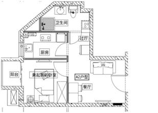 丰台燕保·银地家园公租房户型图一览[墙根网]