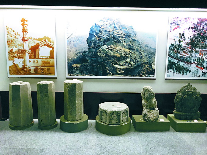 北京永定河文化博物馆:展厅一角复原京西古民居 了解门头沟历史[墙根网]