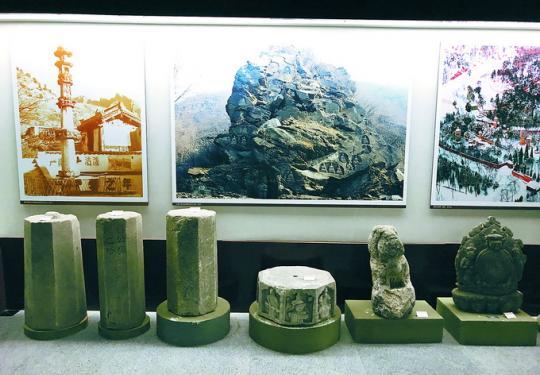 北京永定河文化博物馆:展厅一角复原京西古民居 了解门头沟历史