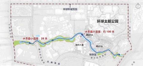 北京環球主題公園度假區景觀水系預計2020年上線[墻根網]