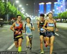 夜,夜的那么美丽,北京最美7条夜跑路线