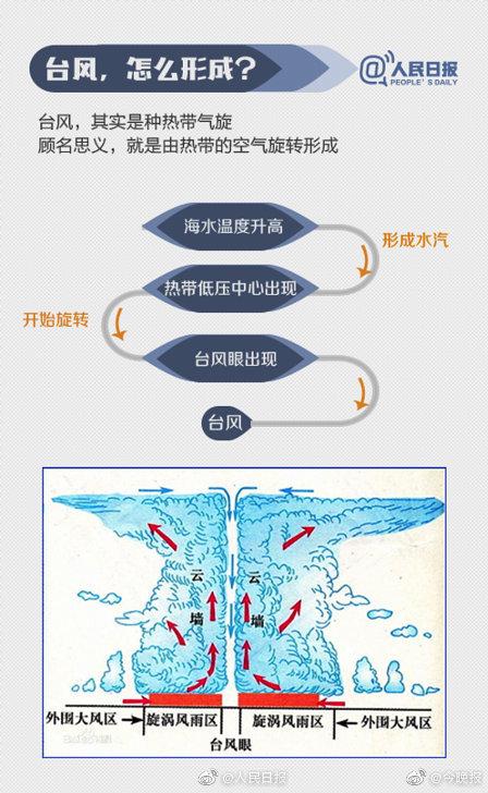 """台风的名字都是咋起的?为什么叫""""利奇马""""?(图解)"""