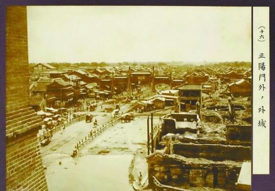 正阳门外为何有座五牌楼?探秘北京城里消失的古桥