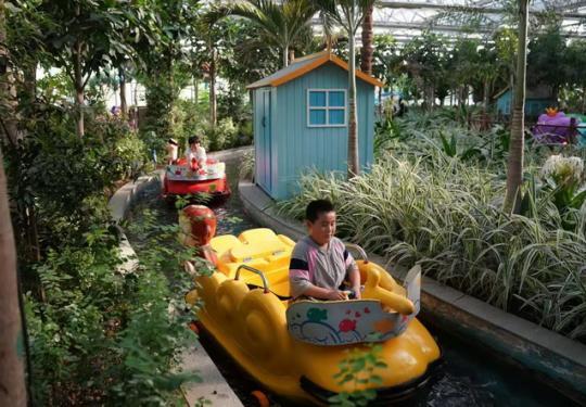 北京丰台南宫五洲植物乐园:温室大棚内尽享凉爽欢乐暑假