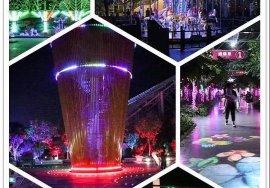 南宫五洲植物乐园夜场套票,门票+儿童娱乐畅玩,32项游乐设施不限次数畅玩,国庆嗨翻天