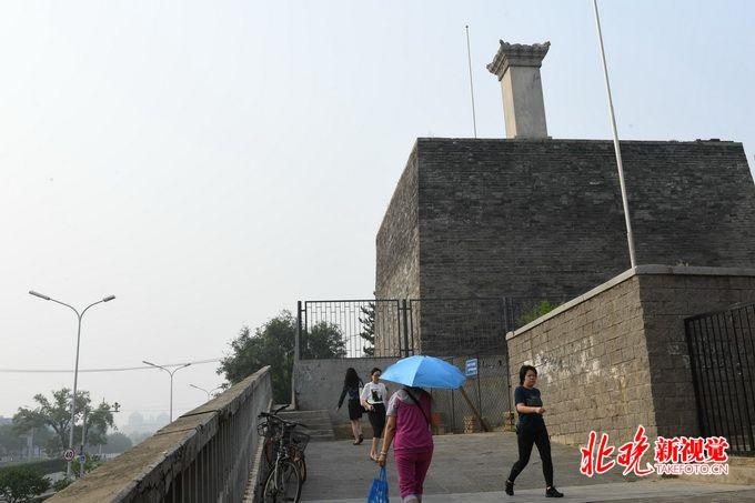 永定门燕墩公园开放,北京这处元代遗址如今绿化休闲等功能丰富[墙根网]