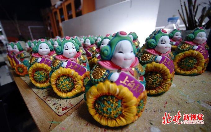 """泥玩""""兔儿爷""""是老北京中秋节俗标志之一,假期可到世园会体验制作[墙根网]"""