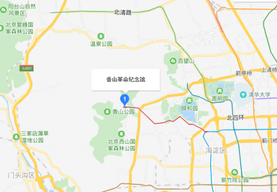 北京香山革命纪念馆建在哪里?附位置及交通指南