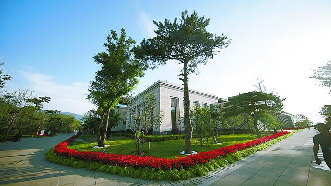 600根柱子一次浇筑成型,香山革命纪念馆,四梁八柱这样搭建[墙根网]
