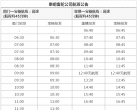 9月16日起上海崇明轮渡高速船航班时刻表调整