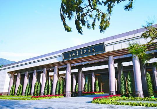 600根柱子一次浇筑成型,香山革命纪念馆,四梁八柱这样搭建