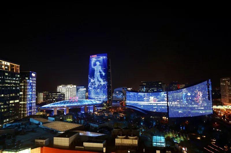 """今晚,北京中关村这70栋楼亮灯,串起一条璀璨""""灯河""""[墙根网]"""