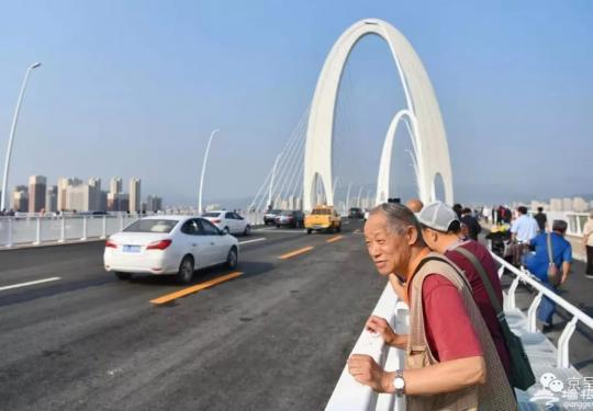 新首钢大桥正式开通,长安街西延线全线贯通!(组图)