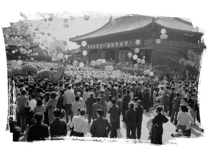 太庙改造成人民文化宫,曾经的皇家禁地服务劳动人民[墙根网]