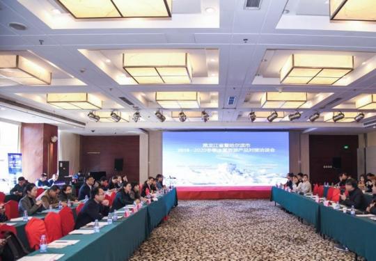 黑龍江省暨哈爾濱市2019-2020年冬季 旅游產品對接洽談會在北京召開