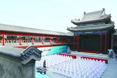 清代四大戏园之一——广和楼再亮相 曾是京城最早最出名的戏楼